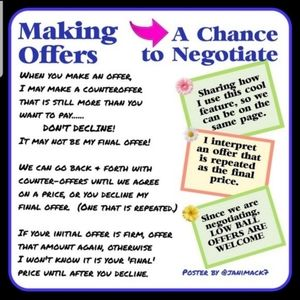 How to negotiate: